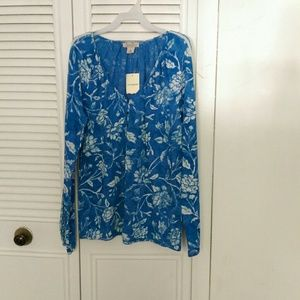 Lucky Brand long sleeves blouse